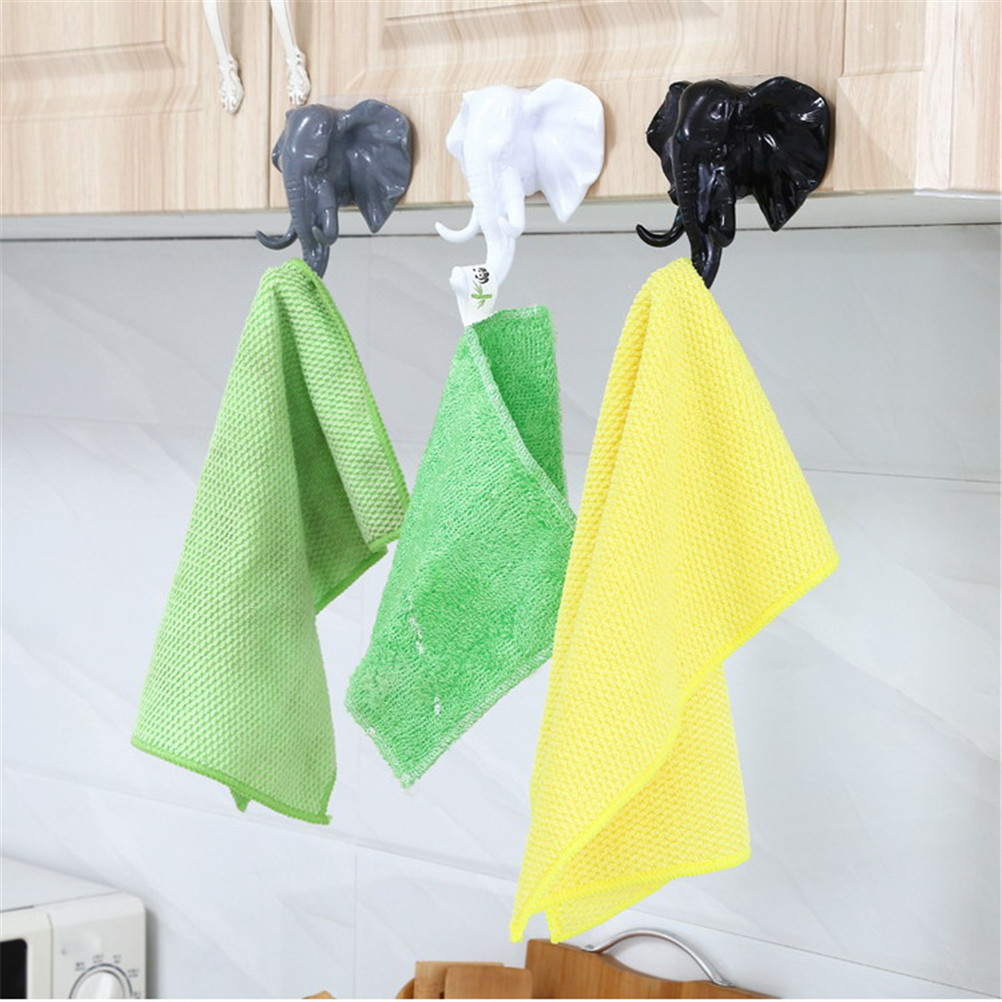 Creative American Elephant Nose Hooks For Hanging Modeling Wall ...