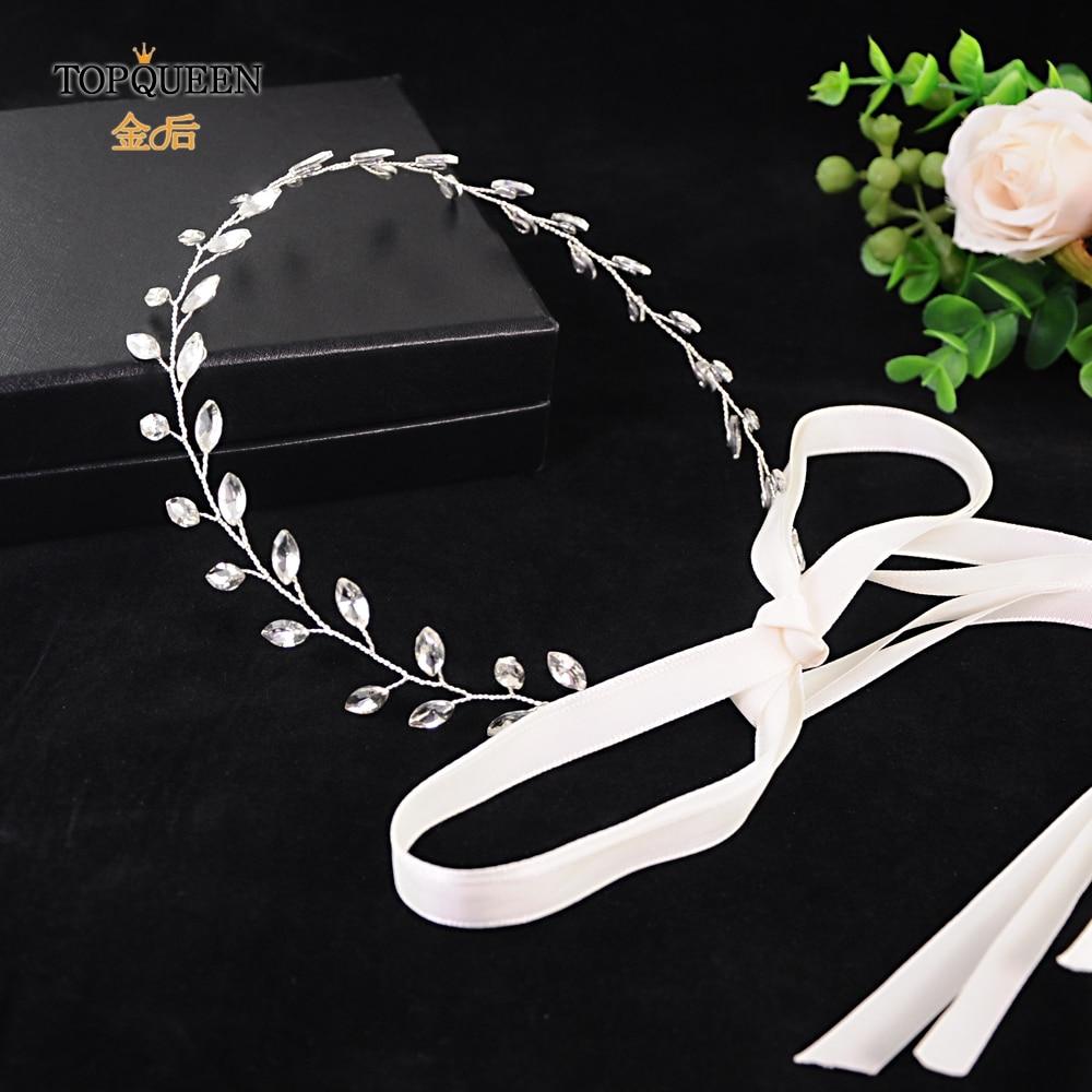 TOPQUEEN SH48-S Belt For A Dress Belt For Women Dress Bridal Belt Thin Bridesmaids Belt Sparkle Belts For Women Sparkly Sash