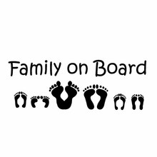 15.2CM*5.4CM Family On Board Vinyl Decal Motorcycle SUVs Bumper Car Window Car Sticker 15 7 7 7cm funny family on board the walking dead zombie automobile vinyl car window sticker decal fashion decor