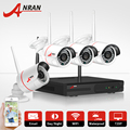 Anran plug & play hd 720 p cctv sem fio sistema de câmera de 1 tb hdd p2p impermeável ao ar livre câmera ip wi-fi kit de vídeo de vigilância de vídeo