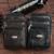 Los hombres de Cuero de Vaca Genuino de moda Fanny Riñonera Celular/Teléfono Móvil Caso Monedero Cinturón Hip Bum bolsa de Mensajero Del Hombro bolsas
