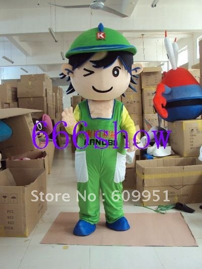 Hot sale! mascot costumes 2012 new boy for sale anime carnival costume Halloween Dress kids party free shipping image