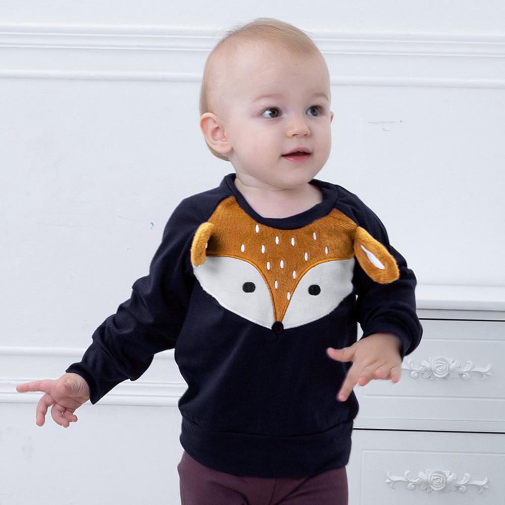 Sweatshirts Cartoon Fleeces Toddler Clothing Girl Baby Fashion Autumn Top 19june06 Long-Sleeve