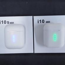 I10 tws i10s 1:1 Оригинальные Bluetooth наушники беспроводные Bluetooth 5,0 наушники Сенсорное управление для смартфонов мобильных Android iPhone