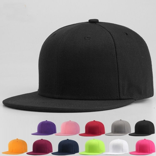 1a52d71168b182 Adult and children blank cap top quality 100% polyester solid color  baseball hat men women logo customized plain snapback cap