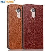 Case For Xiaomi Redmi 4 Pro KEZiHOME Genuine Leather Flip Stand Leather Cover For Xiaomi Redmi