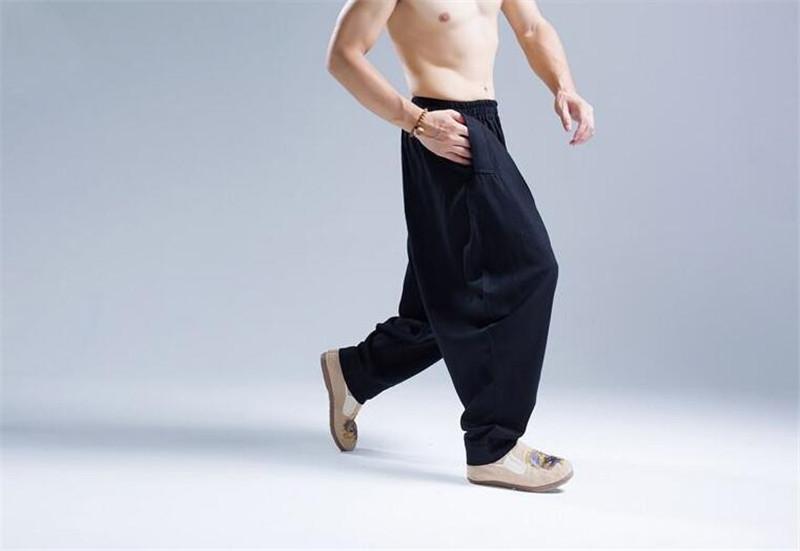 Pantalon Shenzhen noir, vue latérale
