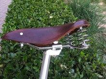 Retro Bicycle Saddle Seat For Bike Leather Classic