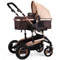 Russa Dobrado Carrinhos 3 Em 1 Carrinhos Carrinho De Bebê Por Atacado Bebê Kinderwagen GH258 Paisagem Carrinhos Carrinho De Criança de Luxo