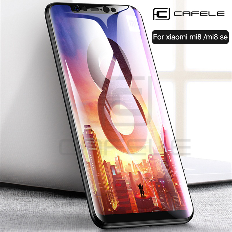 CAFELE Tempered Glass For Xiaomi Mi8 Mi 8 Se 9 6 5s A1 5X Mix 2 F1 HD Clear Screen Protector For Redmi Note 7 K20 Pro 9t Pro