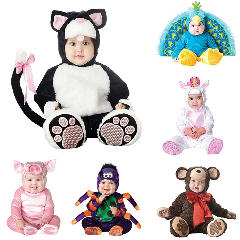 2018 New design Arrival Christmas Xmas Holiday Halloween Costume Infant Baby Girls Lion Rompers Cosplay Newborn Toddlers Clothes