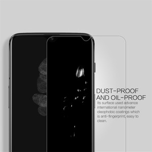 Image 5 - For Oneplus 7 for oneplus 6T Tempered Glass Nillkin H/H+PRO 9H Screen Protector film protective safety glass for One plus 7 /6t