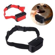 Ошейник для домашних животных с электрическим током, тренировочный Стоп лай для собак, контроль за щенком, Анти лай