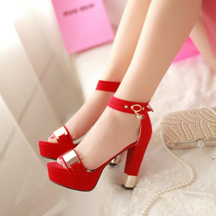 Image 3 - summer ladies sapatos mulher schoenen vrouw high heels chaussure femme zapatos mujer sandals women shoes sandalias femme T865chaussure femme zapatos mujersandal woman shoessandals women -