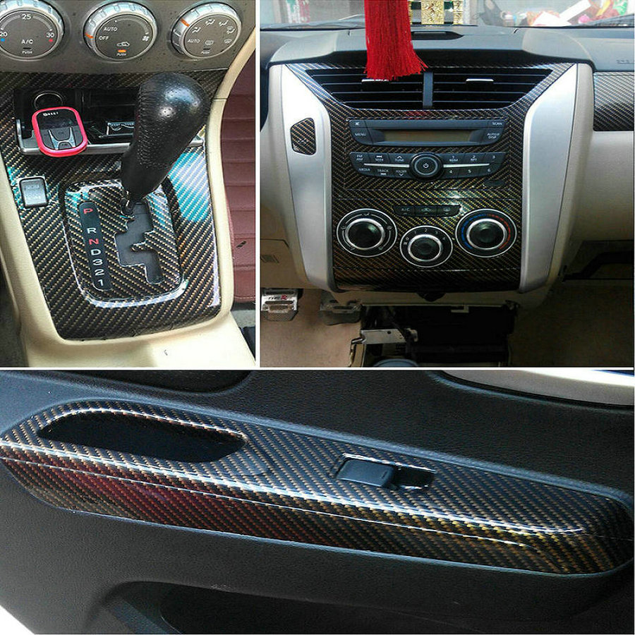 wrap carbon trim watch how with youtube vinyl fiber to car interior