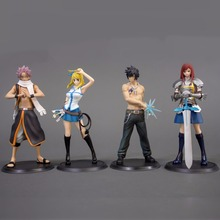 2 Pcs Set Fairy Tail Action Figure