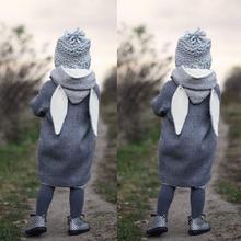 Здесь можно купить  Children hot  Cute Baby Infant Autumn Winter Hooded Coat Rabbit Jacket Thick Warm Clothes Abrigo de conejo gift dropship ST1 p30  Children