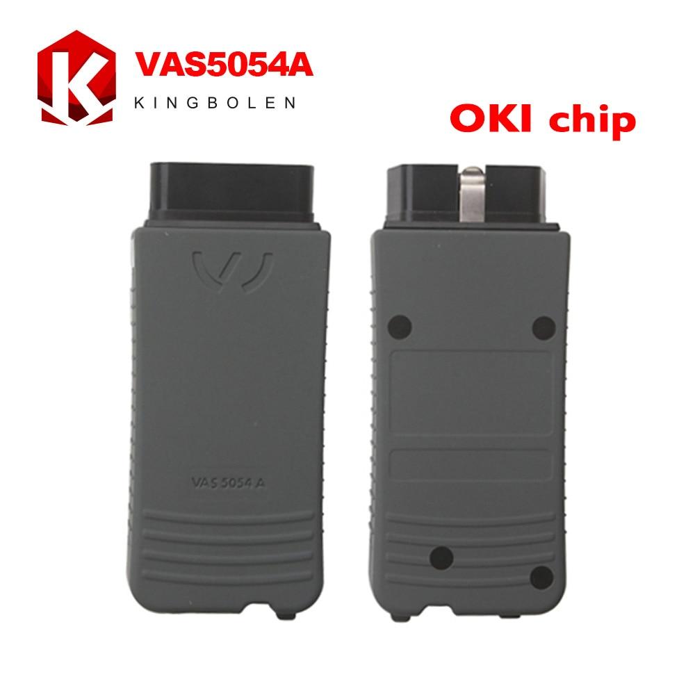 Prix pour Date V19 Bluetooth VAS 5054a Avec OKI Puce Outil De Diagnostic ODIS V4.1.3 V3.0.3 Anglais/Espagnol/Français/Allemand/russe/Portugais