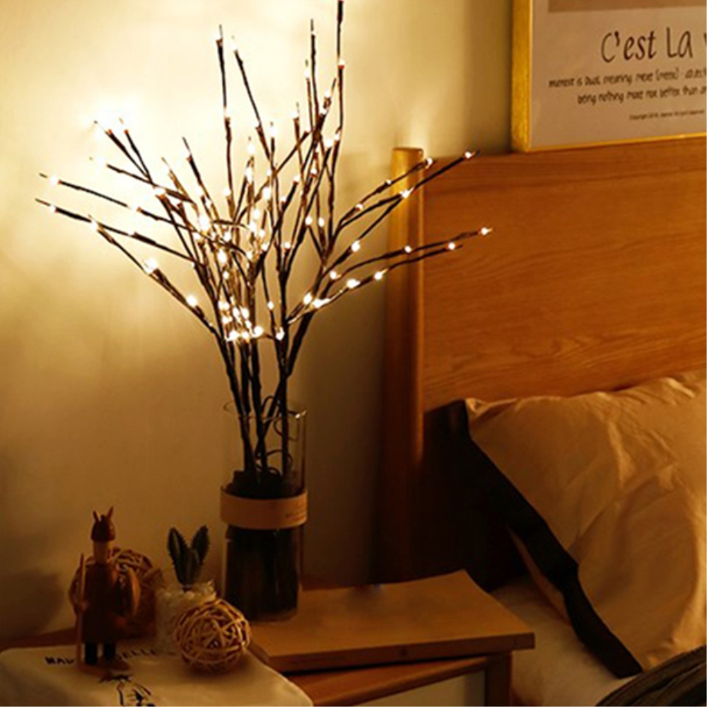 Willow Branch Lights Led Branches Decorative Lights Tall Vase Filler Willow Lighted Branch Home Decoration For Valentine' Day (1)