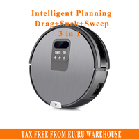 2017 X750 Robot Vacuum Cleaner With Self Charge Wet Mopping For Wood Floor Free Shipping