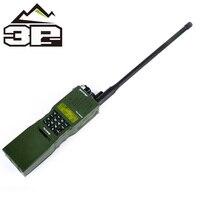 Tactical ZAN/PRC 152 Dummy Airsoft Radio Comunicador Case Removable Dummy headset connector 2 way Radio Interphone WZ020