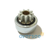 OVERSEE 6N7 81807 00 Start Motor Gear Pinion Replaces for Yamaha Outboard Engine 200HP 150HP Start