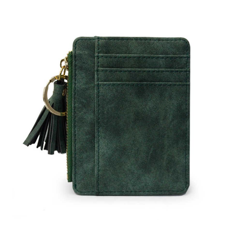 Alibaba Expressar Faux Leather Mini Porte Monnaie Pingente de Borla Saco Chaveiro Carteira Titular do Cartão Bolsa Da Moeda das Mulheres do Transporte Da Gota
