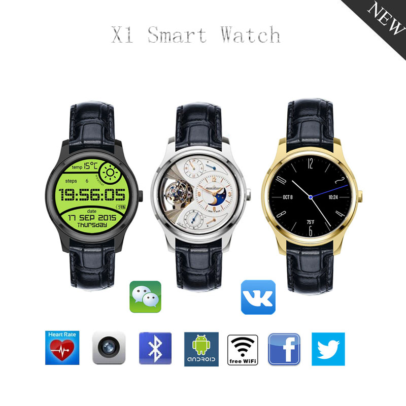 smart watch android support wifi heart rate monitor with inch amoled display clock phone