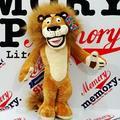 1 unid 25 cm Lindo Madagascar León León de Peluche de Juguete Con Personal Africano Suave Muñeca Los Niños Les Encanta Juguete Regalo de Los Niños muñeca