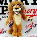 1pc 25cm Cute Madagascar Lion Plush Toy Staffed Soft African Lion Doll Kids Love Toy Children's Gift Doll
