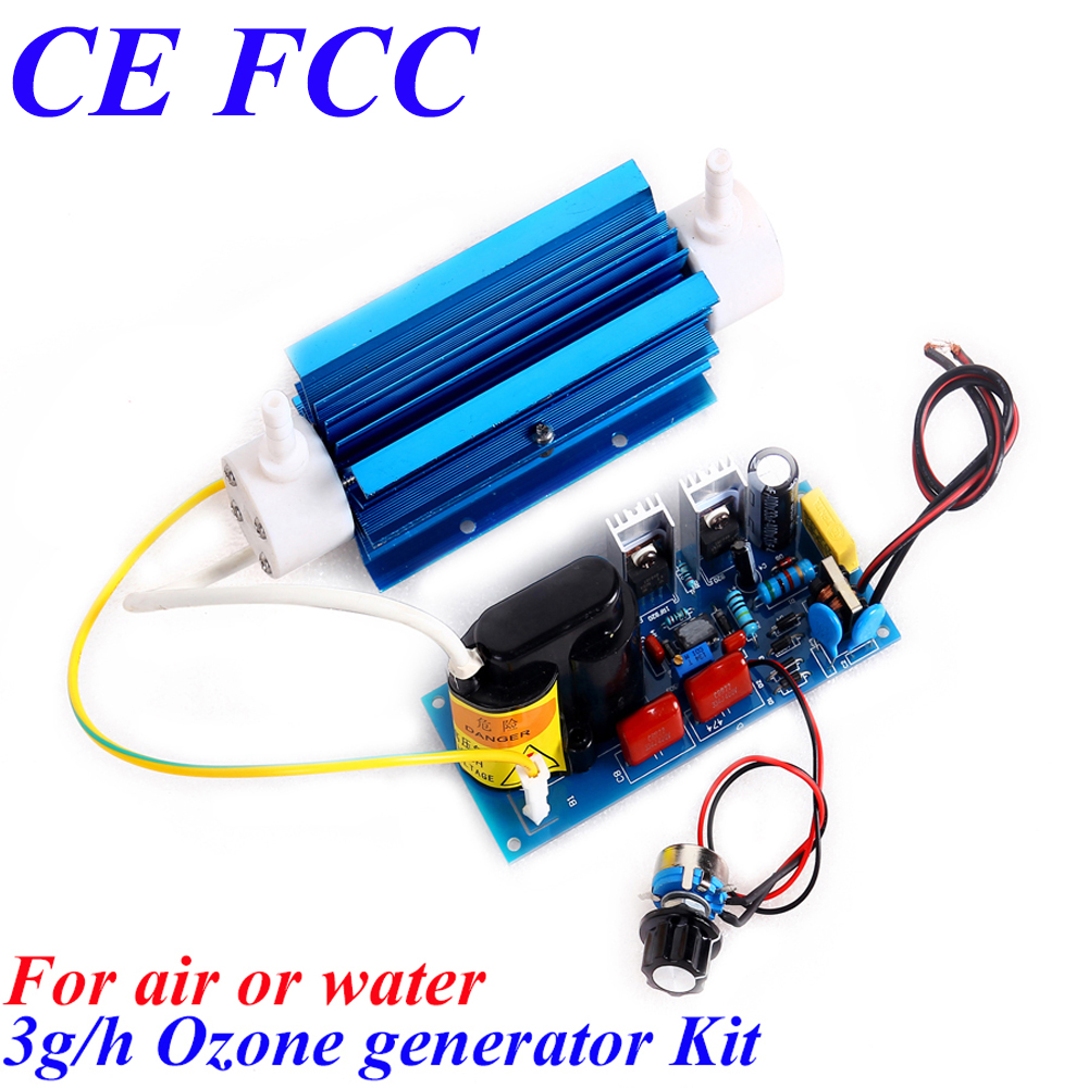 CE EMC LVD FCC AC220V AC110V 3G Adjustable Ozone generator ce emc lvd fcc high concentration ozone generator for sale