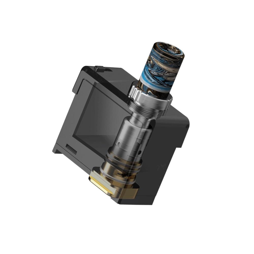 Capacité originale de la cartouche 3ml de dosette de Pasito de fumée avec la bobine de 1,4ohm MTL et la bobine de 0,6ohm DTL pour le vaporisateur de Vape de Kit de Pasito de fumée
