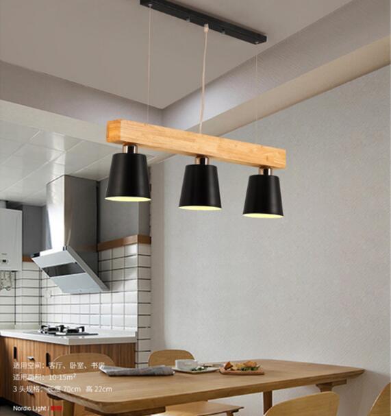 Caliente moderno colgante luces para sala comedor Oficina blanco ...
