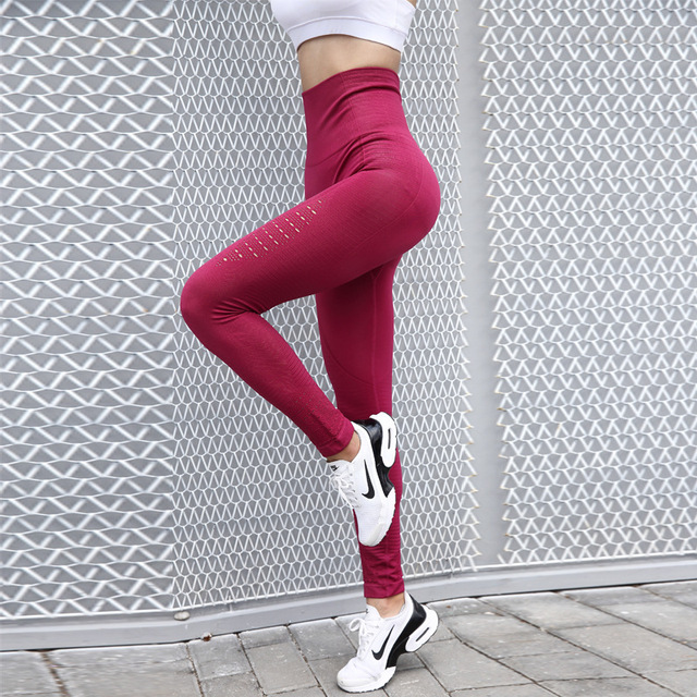 d0df6b842d0e5b High Waisted Yoga Pants Shark Gym Seamless Leggings High Elastic Exercise  Tights Women Pants for Fitness Yoga Running Sports