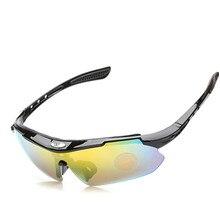 Polarized Cycling Glasses Mountain Bike Women Man Bicycle Sunglasses Bicicletas Eyewear TR90 Goggles Eyewear 5 Lens  UV400