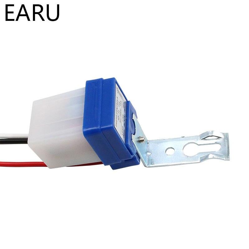 Фотоэлемент с автоматическим включением, уличный светильник, переключатель управления, постоянный ток, 220 В, 50-60 Гц, 10 А