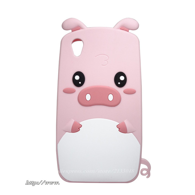 best sneakers ac6f9 94085 US $3.6 15% OFF|Fashion 3D Cartoon Silicone Phone Case For Cover Vivo Y51  Case Y51A Y51L Phone Shell Capa Fundas Cute pig For Vivo Y51 Cover-in  Fitted ...