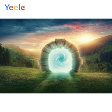 Yeele Landscape Forest Sunset Stone Dream Tunnel Photography Backdrops Personalized Photographic Backgrounds For Photo Studio