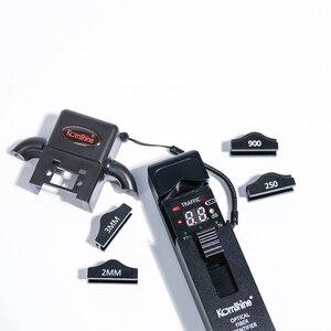 Image 5 - Identificador de fibra óptica de material metálico KomShine KFI 35 con cuatro adaptadores de 0,25, 0,9, 2,0 y 3,0
