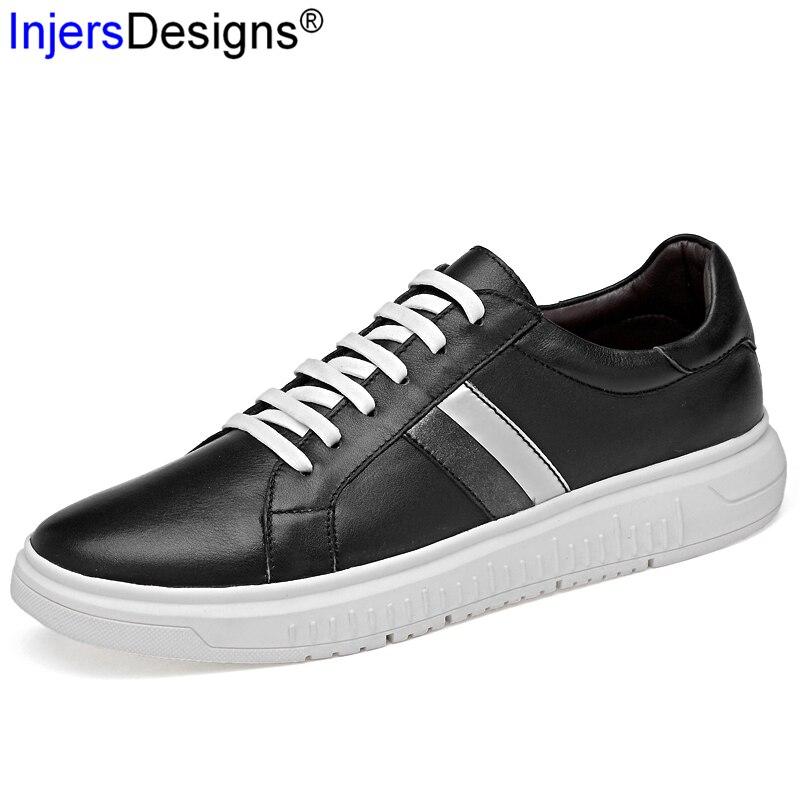 Dos Mocasines Sapatos Black black White Trainers Genuíno 38 up Skate Confortável E Baixos Moda Couro Tamanho Lace 45 Homens Casual De Sneakers Macio w7nxxgRXHq
