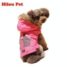 Waterproof Reversible Wearable Dog Jacket Pocket Design Warm Winter Padded Dog Coats Clothes Dog Vest Apparels