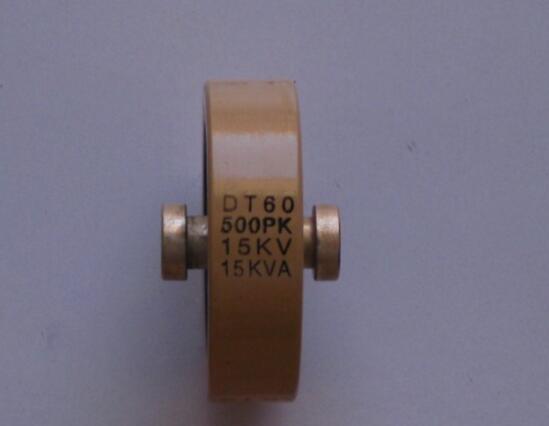 Round ceramics Porcelain high frequency machine  new original high voltage DT60 500PK 15KV 15KVA  hot sales new original high voltage dt60 300p 300pk 15kv 15kva free shipping