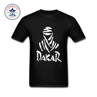 2017 Fashion Summer Style Dakar Letters Print Tshirt Cotton T Shirt For Men