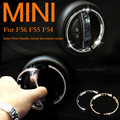 Mini Cooper ONE CLUBMAN JCW F56 F55 F54 Inner door handle diamond decorated ring stickers Mini cooper accessories