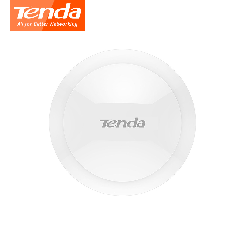 Tenda I22 1200Mbps Ceiling WiFi Access Point 11ac 2.4G/5GHz Indoor AP Wi-Fi Repeater Extender Router 802.3af POE Power Adapter