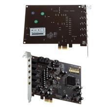 PC Computer PCI-E 0105 Chip 501 Sound Track DirectSound 3D Desktop Audio Card 2019 цена и фото