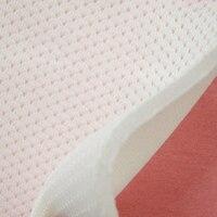 Blanc couche d'air épaississement creux grille mesh vêtements de l'espace bricolage matériaux noir sport sac à dos chaussures tissu à coudre tissu tissu