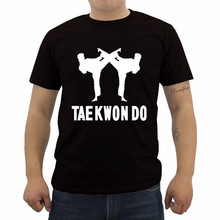T-Shirt Men's Short-Sleeve Casual O-Neck Tae-Kwon-Do Martial-Arts Male New