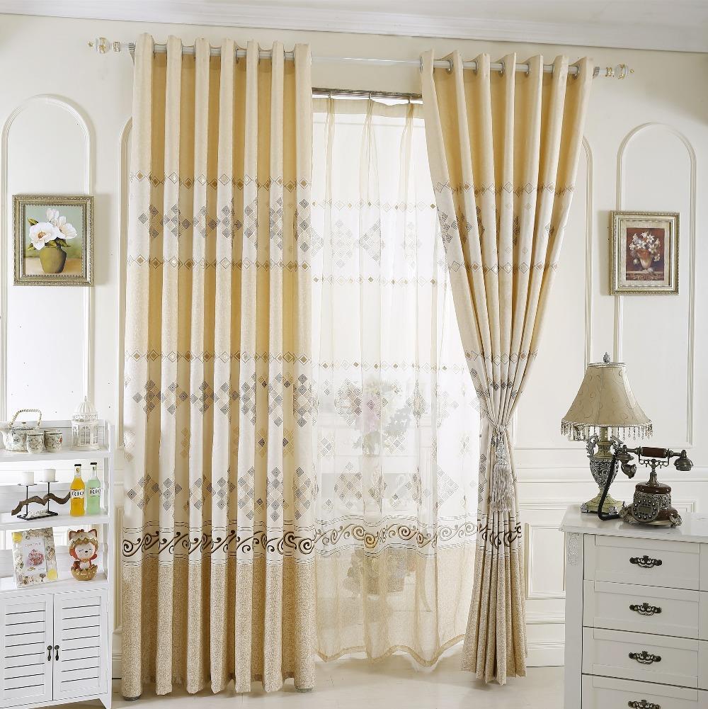 aliexpress: comprar cortinas cortinas de lujo para la