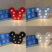 Cute Led Desk Night Lights Baby Room Cartoon Night Light Kids Bed Lamp Sleeping Night Lamp